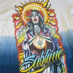 Rare Sublime 420 tip dyed t-shirt